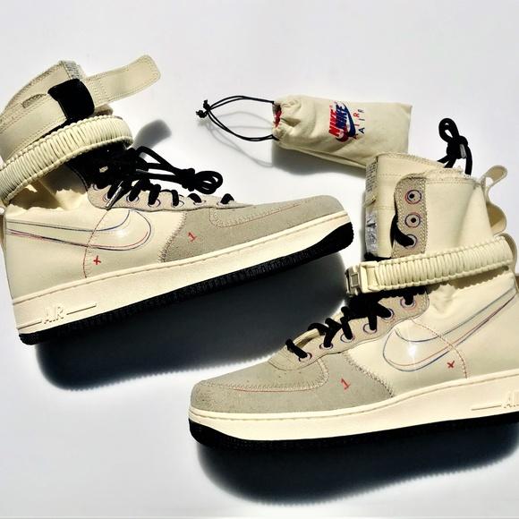Nike Sf Af Air Force High Muslin Tan
